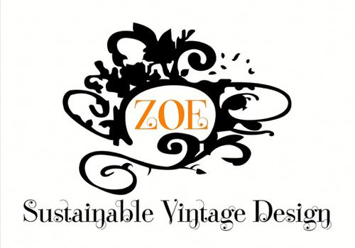 Tienda de ropa sustentable Zoe sustainable vintage design  logo