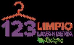 Lavandería 123 Limpio logo