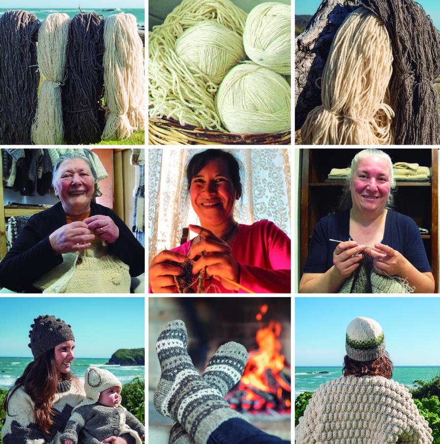 Moda consciente hecha a mano con lana 100% natural de Oveja