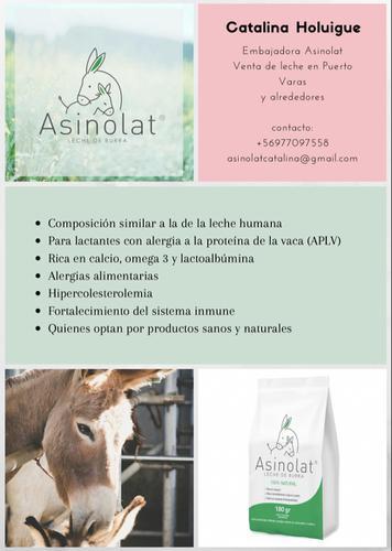 Venta de leche de burra 100 por ciento natural! logo